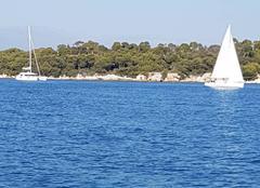 Mer Cannes 06400 îles des leçons