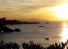 Mer Biarritz 64200 Coucher de soleil