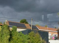 Ciel Valenciennes 59300 Nuages menaçant