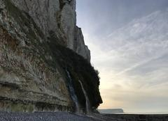 Ciel Saint-Leonard 76400 La cascade de Grainval