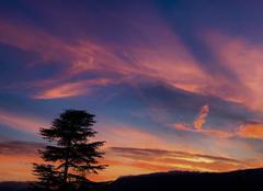 Ciel Aix-les-Bains 73100 De bonne augure pour une nouvelle belle journée