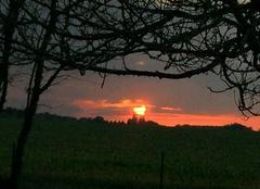 Ciel Tauxigny 37310 Coucher de soleil