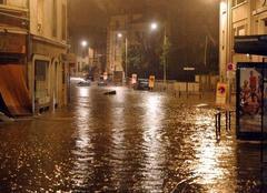Pluie Clermont-Ferrand 63000 Pluies orageuses stationnaires