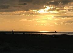 Ciel Boucau 64340 Couché de soleil