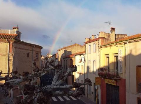 Arc en ciel Roussillon