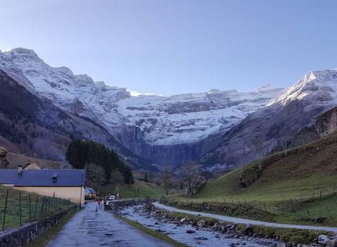 Première neige à Gavarnie