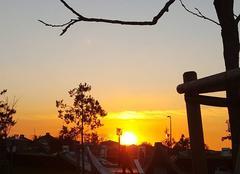 Ciel Bussy-Saint-Georges 77600 Coucher du soleil