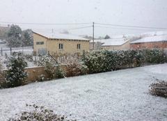 Neige Mazeyrat-d'Allier 43300 Première neige!