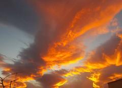 Ciel Baho 66540 Rougeurs du ciel