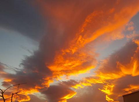 Rougeurs du ciel