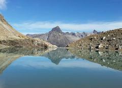 Insolite Saint-Christophe-en-Oisans 38520 Lac des beches oisans