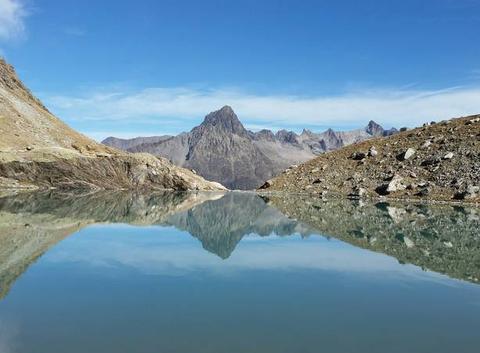 Lac des beches oisans