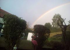 Ciel Fresse-sur-Moselle 88160 Arc en ciel a 20h14