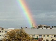 Pluie Clermont-Ferrand 63000 Arc en ciel