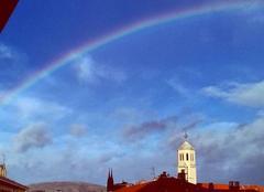 Ciel Clermont-Ferrand 63000 F?hn et arc en ciel