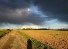 Ciel Warmeriville 51110 Entre nuages et soleil