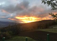 Ciel Le Poet-Celard 26460 Lève de soleil