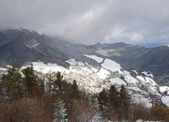 Neige Le Sappey-en-Chartreuse 38700 Après la chute de neige