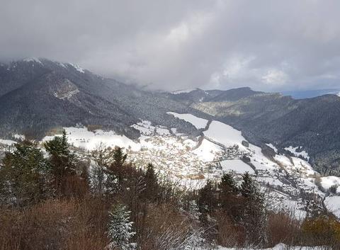Après la chute de neige