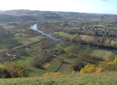 Climat Cahors 46000 La Dordogne dans la plaine du Roc