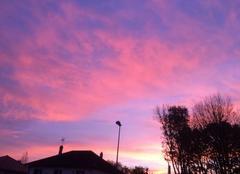 Ciel Rambouillet 78120 Levé de soleil