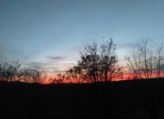 Ciel Ruoms 07120 Crépuscule