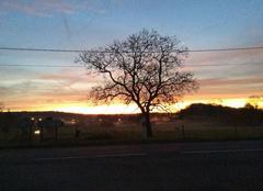 Ciel Launois-sur-Vence 08430 Levè de soleil