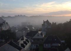 Brouillard Saint-Lunaire 35800 Saint-Lunaire dans la brume