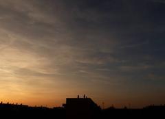 Ciel Niort 79000 Belle fin de journée