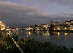 Ciel Romans-sur-Isere 26100 Quais d'Isère en début de soirée
