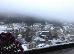 Neige Plombieres-les-Bains 88370 Première neige 2017