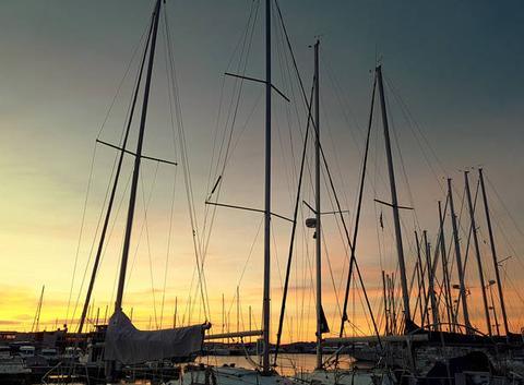Le port de Sainte Maxime