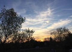 Ciel Mours-Saint-Eusebe 26540 Ciel crépusculaire