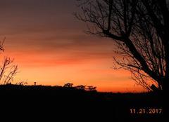Ciel Nogaret 31540 Encore un beau coucher de soleil.