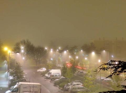 Brouillard de nuit