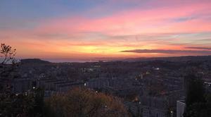 Ciel Saint-Andre-de-la-Roche 06730 Coucher de soleil