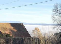 Brouillard Auriac 19220 Mer de brouillard