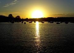 Ciel Carquefou 44470 Coucher du soleil sur Port Jan à Carquefou
