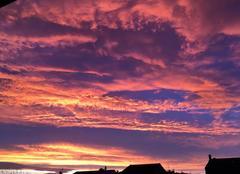 Ciel Saint-Just-Saint-Rambert 42170 Ciel chaleureux d?automne