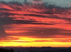 Ciel Clermont-Ferrand 63000 Lever de soleil