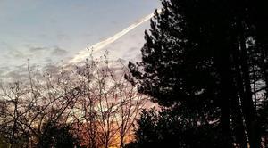Ciel Vetrigne 90300 Lever du soleil à  Vétrigne