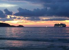Ciel Phuket Coucher de soleil