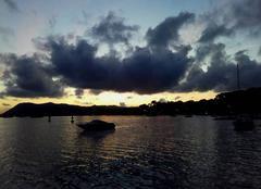 Ciel La Seyne-sur-Mer 83500 Coucher de soleil