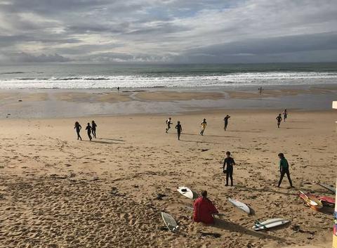 Sport étude aux sables