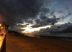 Nuages Villers-sur-Mer 14640 Soirée nuageuse
