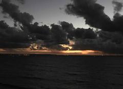 Ciel Sainte-Adresse 76310 Coucher de soleil Sainte-Adresse Le Havre