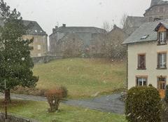 Neige Saint-Eloy-les-Mines 63700 Ça neige