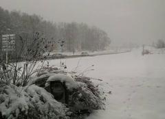 Neige Morbier 39400 Début des chutes de neige