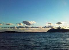 Ciel La Seyne-sur-Mer 83500 Crépuscule entre ciel et mer......