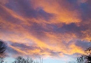 Ciel Dampierre 39700 Ciel rouge du matin